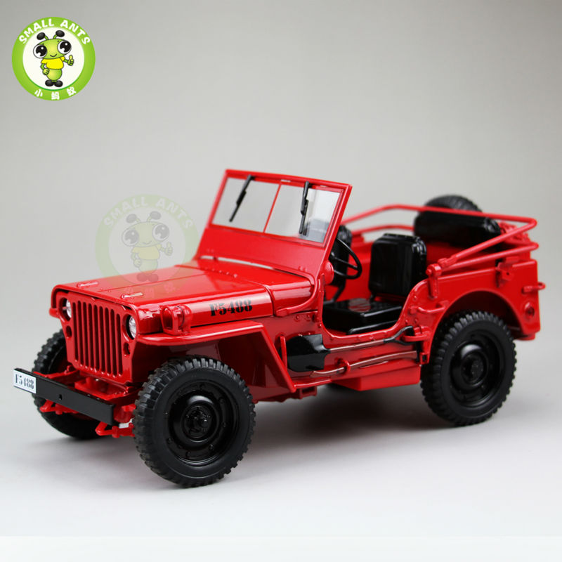 jeep style army willys top down diecast 1 18 model jeep. Black Bedroom Furniture Sets. Home Design Ideas